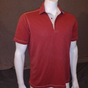Johnston and murphy red polo